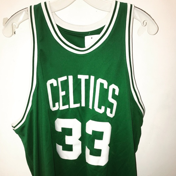 100% authentic 7a0a3 aa974 100% authentic hardwood classic Larry bird jersey